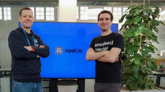 Michael Kamleitner und Johannes Nagl. © Swat.io