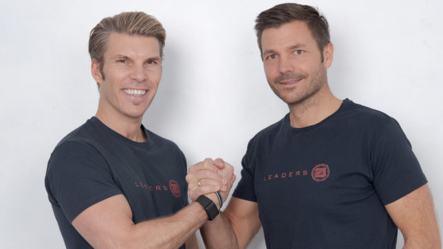 Florian Gschwandtner und Thomas Kleindessner starten Leaders21. © Leaders21