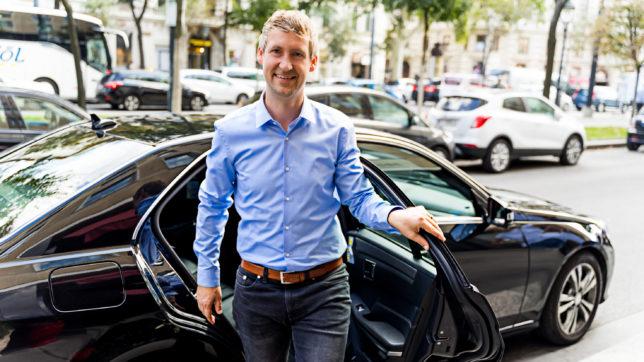 Martin Essl, Uber Österreich. © Uber