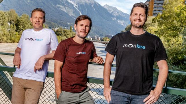 Das Monkee-Team Jean-Yves Bitterlich, Christian Schneider und Martin Granig. © Monkee