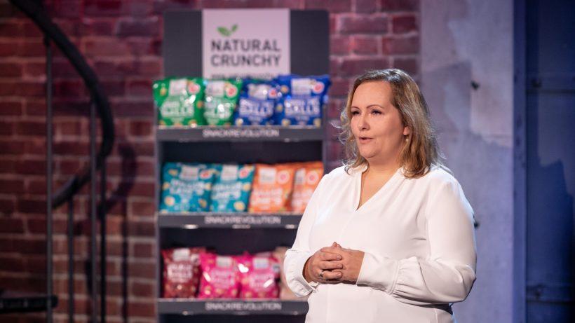 """Timea Hipf hat das Startup """"Natural Foods"""" gegründet. © PULS 4 / Gerry Frank"""