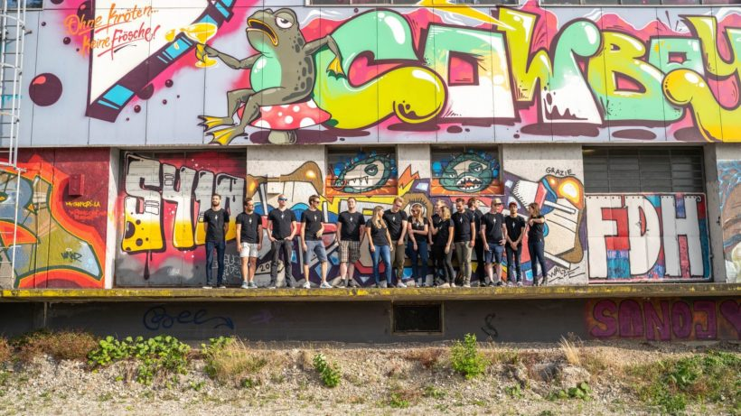 Das Storyclash-Team. © Storyclash