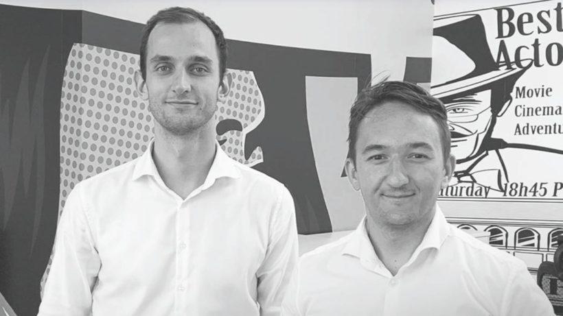 Misha Voronko und Drazen Ivanis von Wowflow. © Wowflow
