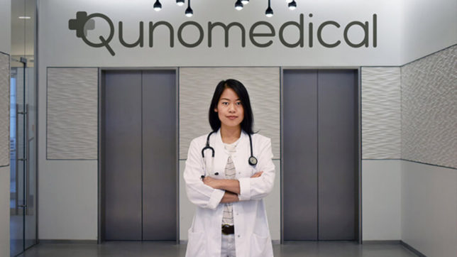 Sophie Chung, Gründerin von Qunomedical. © Qunomedical