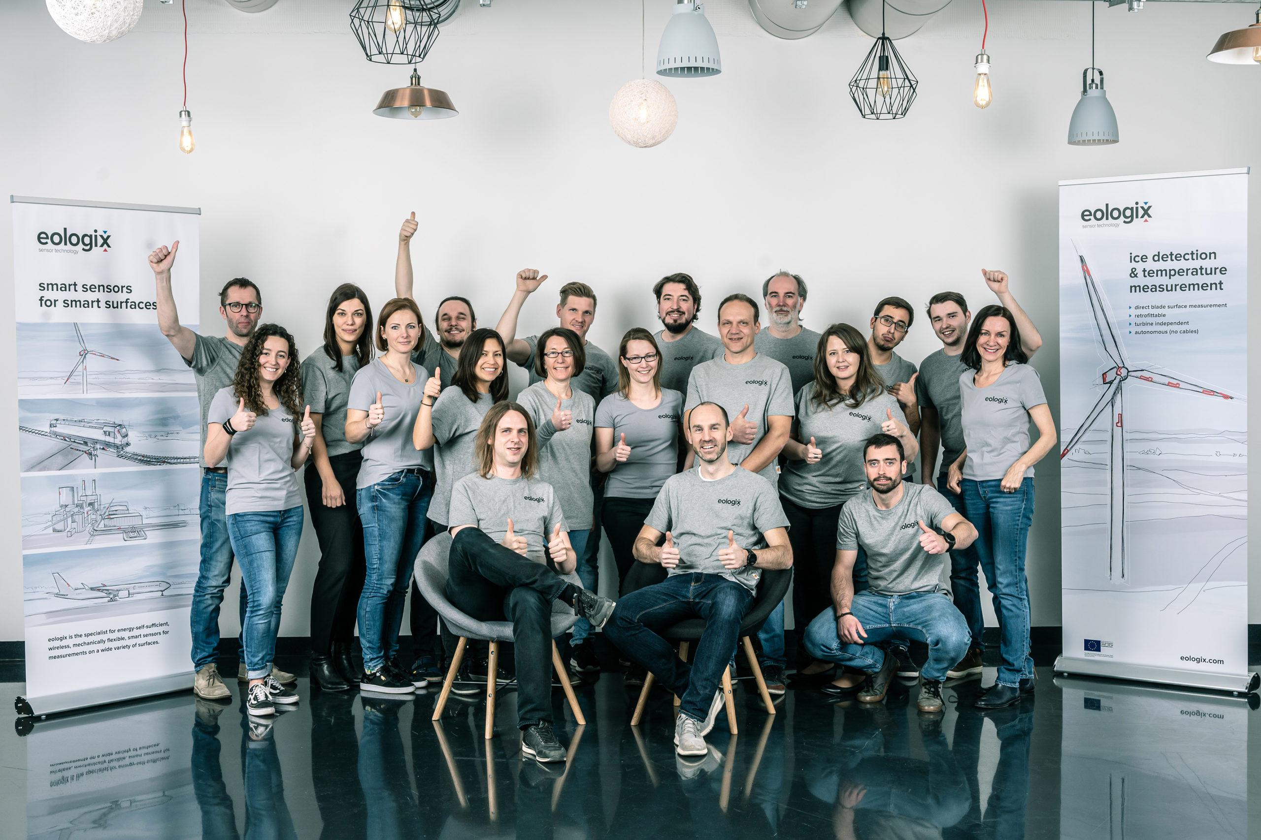 Das Team von eologix. © eologix sensor technology gmbh