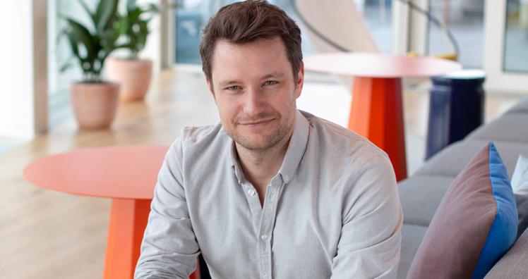 Mjam-CEO Artur Schreiber. © Mjam