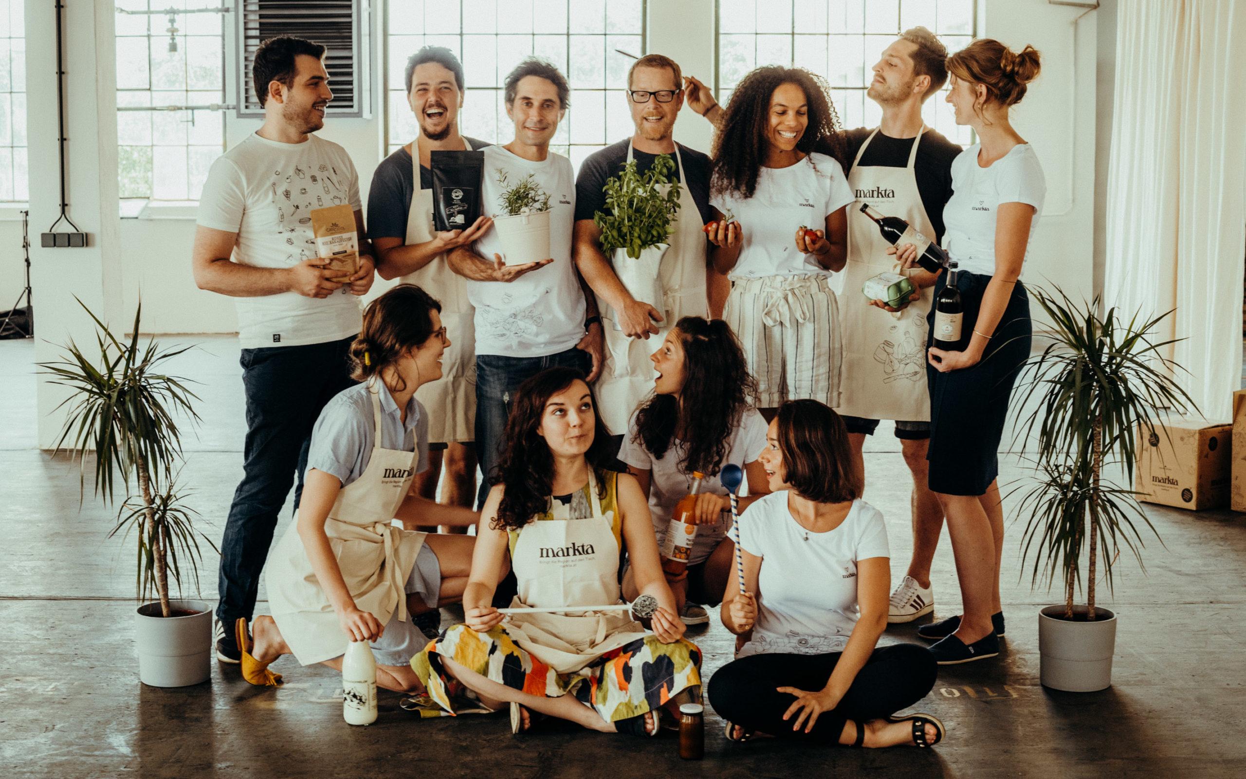 das markta-Team. © JENN AND THE CAMERA // Jennifer Wortham