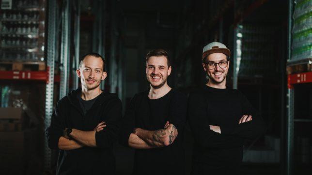 Dominik Bieringer, Georg Weiß und Christoph Glatzl haben Logsta gegründet. © Adrian Almasan Photography