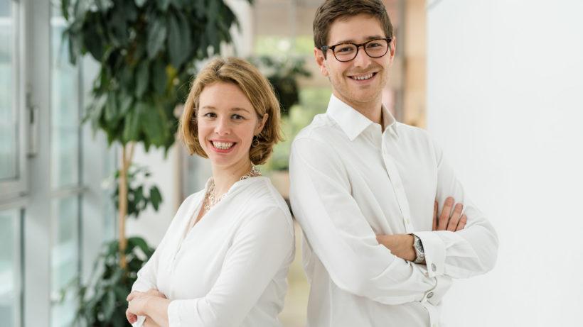 Die Biome Diagnostics-Gründer Nikolaus Gasche und Barbara Sladek. © myBioma