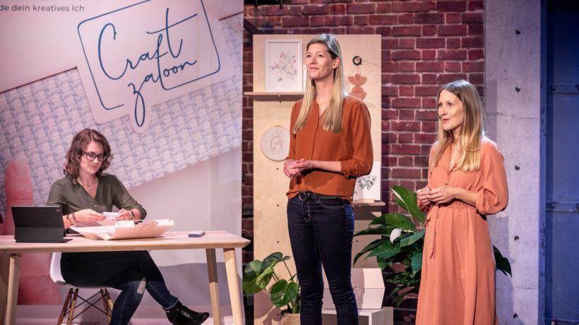 Carina Morawetz und Tanja Tuschkany haben Craftzaloon gegründet. © Gerry Franke / Puls 4