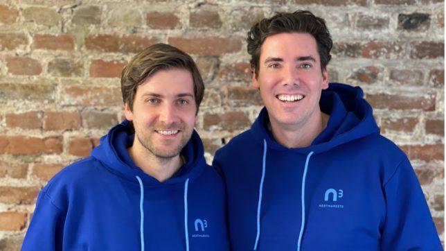 Dominic Heyden (CTO) und Manuel Heyden (CEO) von nextmarkets. © nextmarkets AG