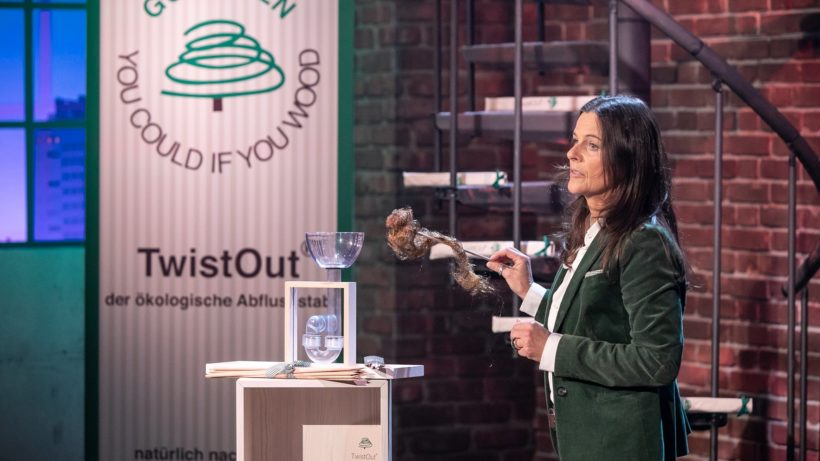 Jutta Jertrum hat TwistOut erfunden. © PULS 4 / Gerry Frank