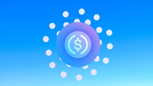 Logo des USD Coins. © Centre.io, Montage Trending Topics