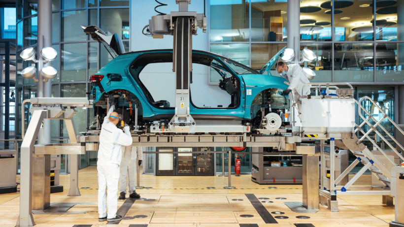 Produktion des Volkswagen ID.3. © Volkswagen AG