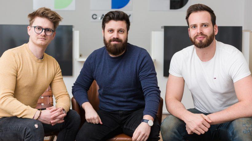 Florian Sulzer, Patrick Scheucher und Thomas Mang von Cashy. © Philipp Lipiarski