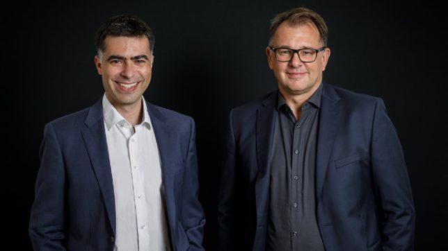 Helmut Lehner und Anton Cabrespina von Mavoco. © Mavoco