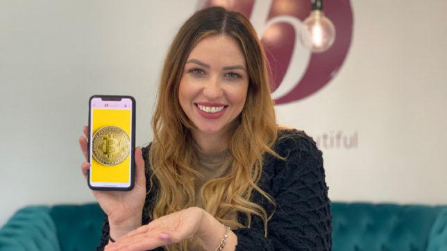 """Antonia Gornicec hat """"the most beatiful"""" gegründet und ermöglicht das Bezahlen mit Kryptowährungen. © the most beautiful"""