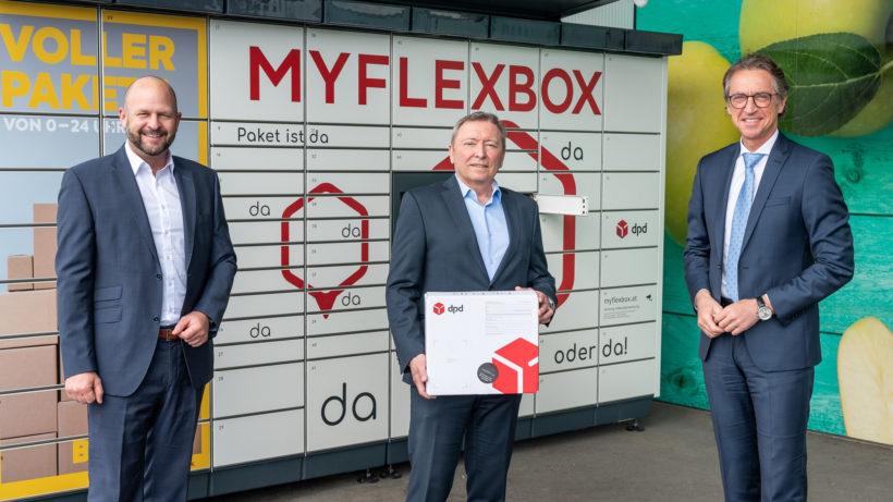 Smart Locker von MYFLEXBOX: Kooperation mit BILLA © REWE/Robert Harson