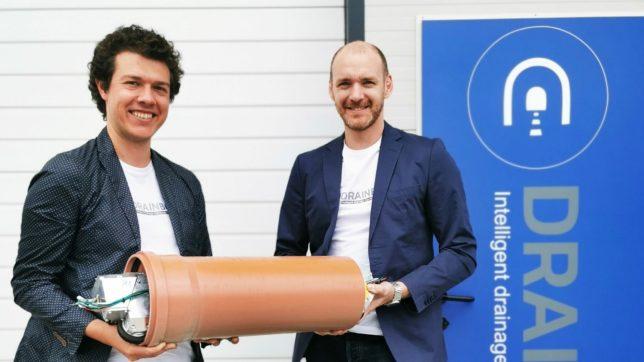 DrainBot-Gründer Philipp Lepold und Slaven Stekovic © DrainBot