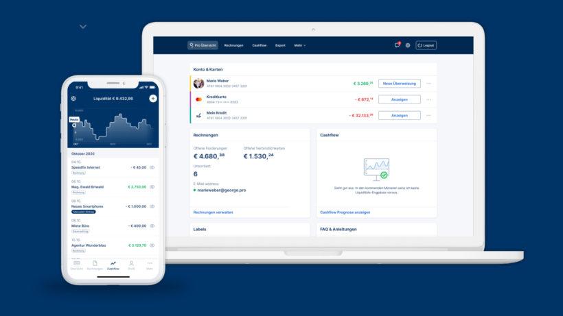 George Pro: Banking für Kleinunternehmen © Erste Bank