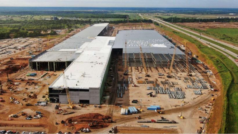Tesla Gigafactory in Texas. © Tesla