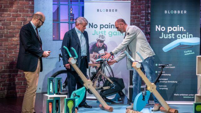 Blobber: Fahrradsattel schont Rücken und Gesäß © PULS 4 / Gerry Frank