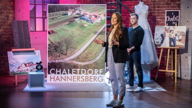 Der Pitch vom Chaletdorf Hannersberg. © PULS 4 / Gerry Frank