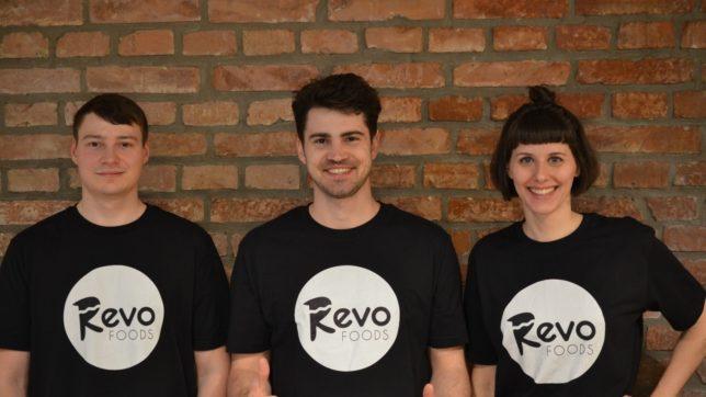 Die drei Gründer des Startups ©Revo Foods