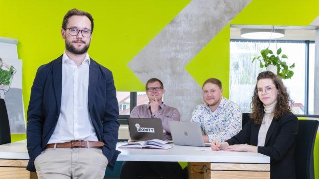 Von links nach rechts: Michael Muttenthaler, Matthias Dollfuss, Maximillian Horvatits, Helena Winter - Ecoist und Ikonity schließen sich zusammen. © Digitalsports Fotografie