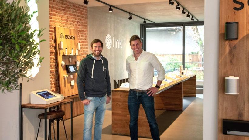 Julian Hueck und Marius Lissautzki, die Gründer von tink. © tink