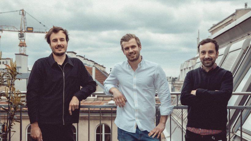 Jan Pöltner, Lukas Berger (beide Geschätsführer 1000things) und Christian Gstöttner (Geschätsführer Obscura). © 1000things