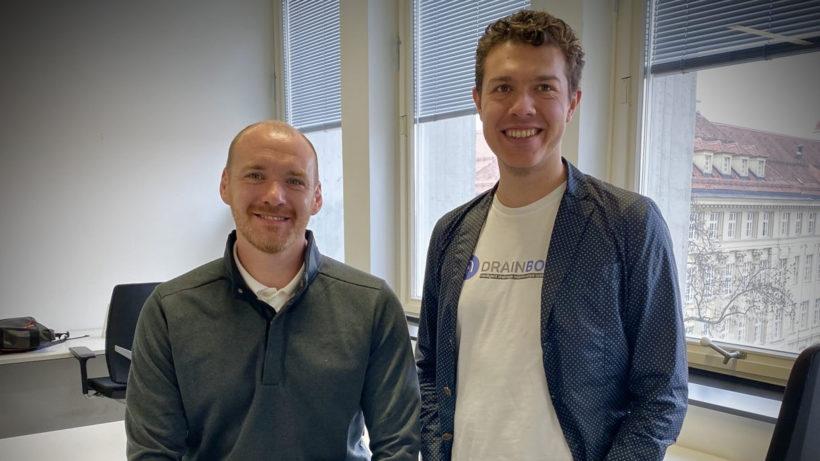 DrainBot-Gründer Philipp Leopold und Slaven Stekovic © DrainBot