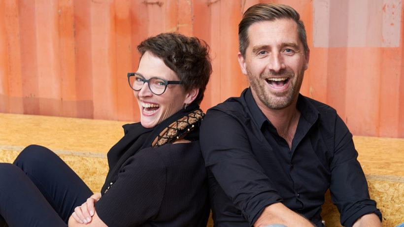 Willemijn Schneyder und Daan Assen, die Gründer von SwipeGuide. © SwipeGuide
