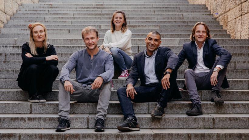 Das Team von FreyZein. Zweiter von links ist Jan Karlsson. © FreyZein