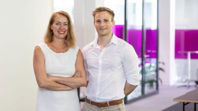 Maria Baumgartner und Lukas Rippitsch. © Speedinvest Heroes