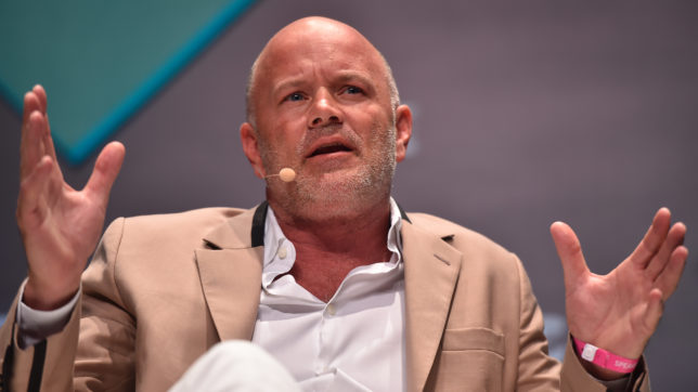 Michael Novogratz, CEO von Galaxy Digital. © Seb Daly / RISE via Sportsfile (CC BY 2.0)