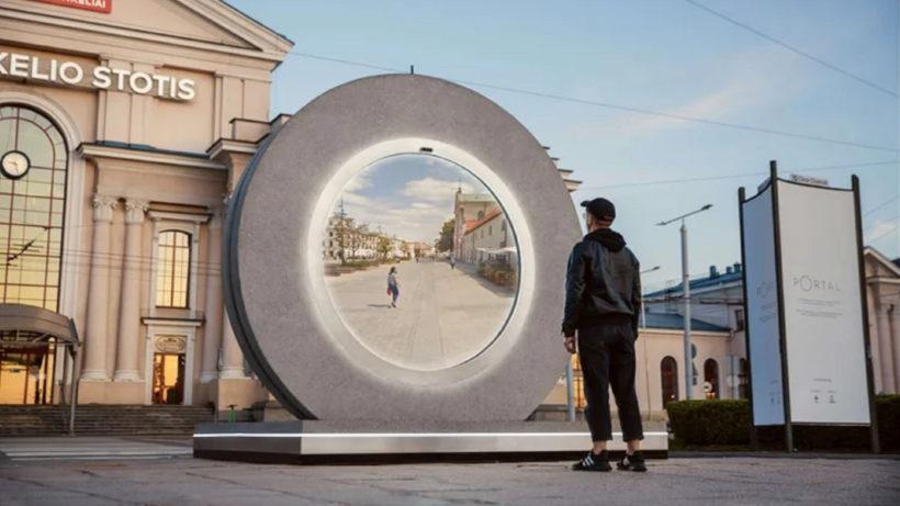 """""""Portal"""" in Vilnius © Go Vilnius"""