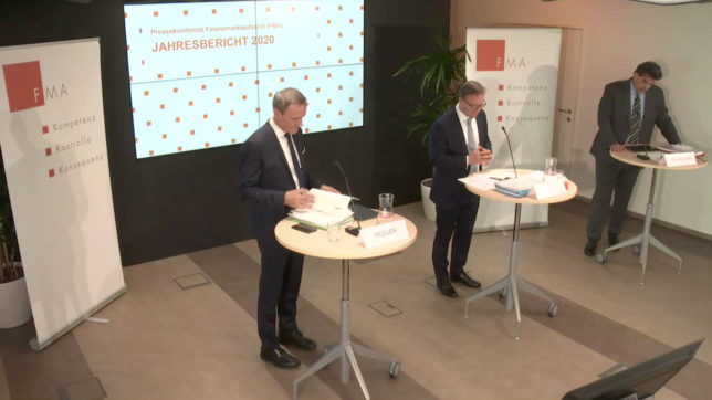 FMA-Pressekonferenz. © FMA