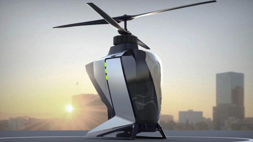 Prototyp von FlyNow. © FlyNow Aviation