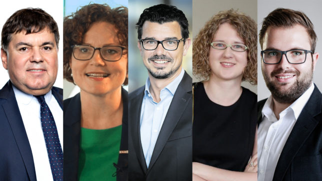 Die Jury der #glaubandich-Challenge.