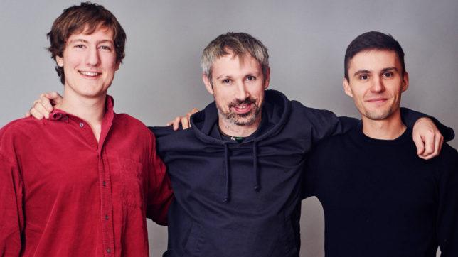 Robert Habermeier, Gavin Wood und Peter Czaban, Gründer von Polkadot. © Polkadot
