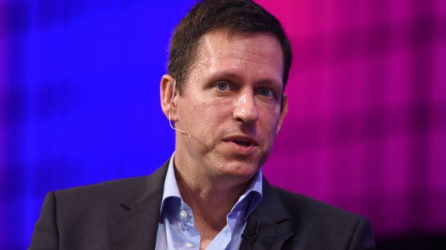 Star-Investor Peter Thiel. © Sportsfile/Web Summit (CC BY 2.0)