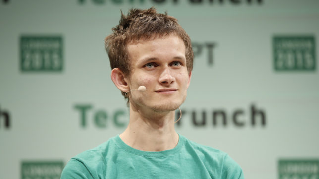 Ethereum-Gründer Vitalik Buterin. © John Phillips/Getty Images for TechCrunch (CC BY 2.0)