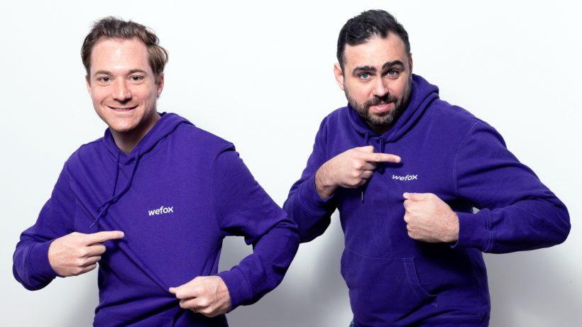 CFO Fabian Wesemann und CEO Julian Teicke von wefox. © Fatih Aydin/wefox
