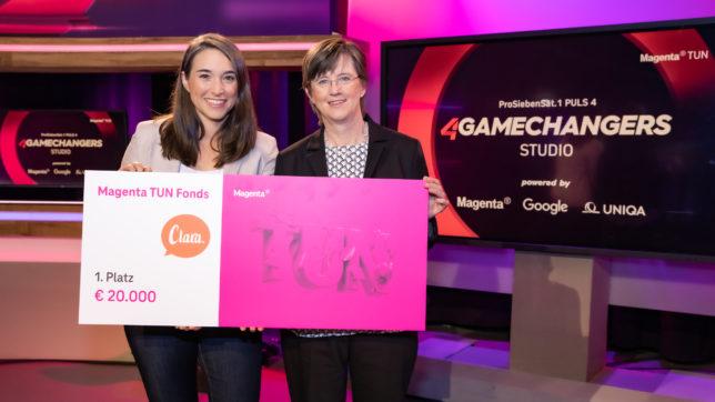 Startup Clara gewinnt den Magenta TUN Award 2021 ©Moni Fellner