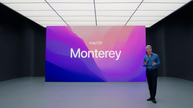 Craig Federighi bei der Enthüllung von Montery © Apple