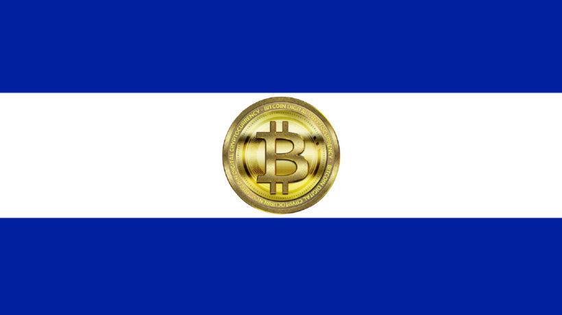 Flagge von El Salvador mit Bitcoin-Symbol © OpenClipart-Vectors / TheDigitalArtist / Montage Trending Topics