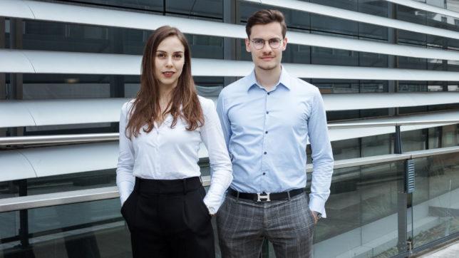 Flasher-Gründer Ines Woeckl und Alexander Rech © Flasher