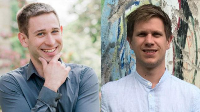 Inmox-Gründer Michael Aufreiter und Daniel Kagerbauer © Inmox