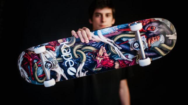 Kape Skateboards-Gründer Peter Karacsonyi © Christoph Weiermair